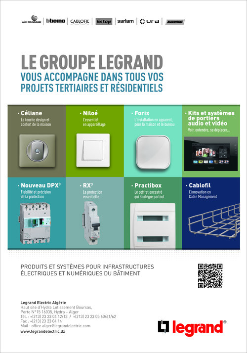 LEGRAND ELECTRIC ALGERIE,EURL