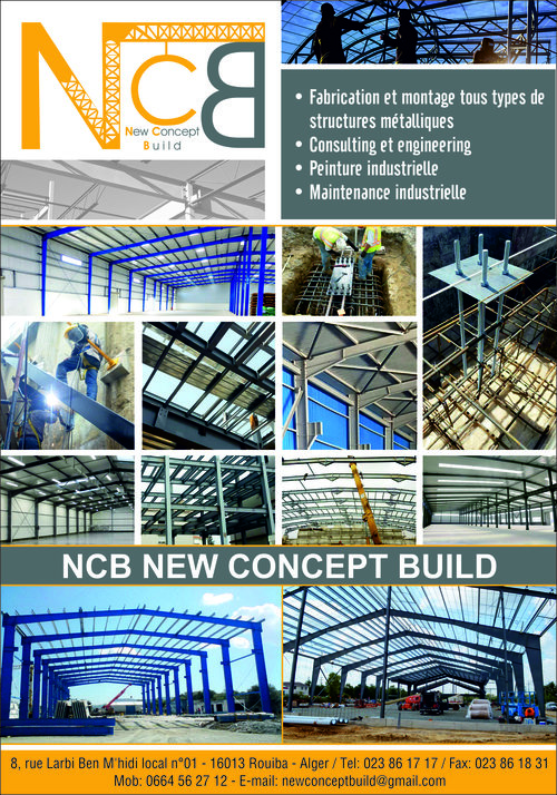 NCB NEW CONCEPT BUILD,Sarl