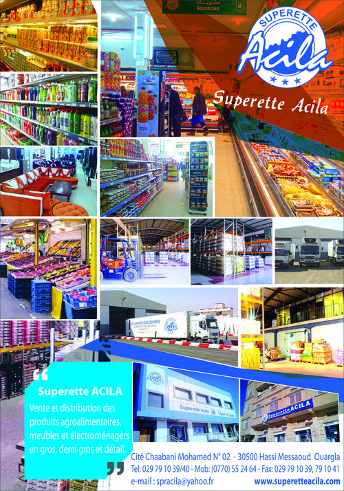 Superette ACILA Commerce,Sarl