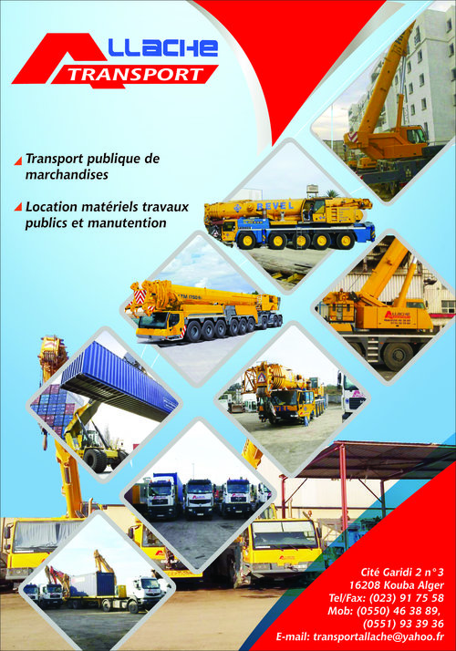 ALLACHE Transport,EURL