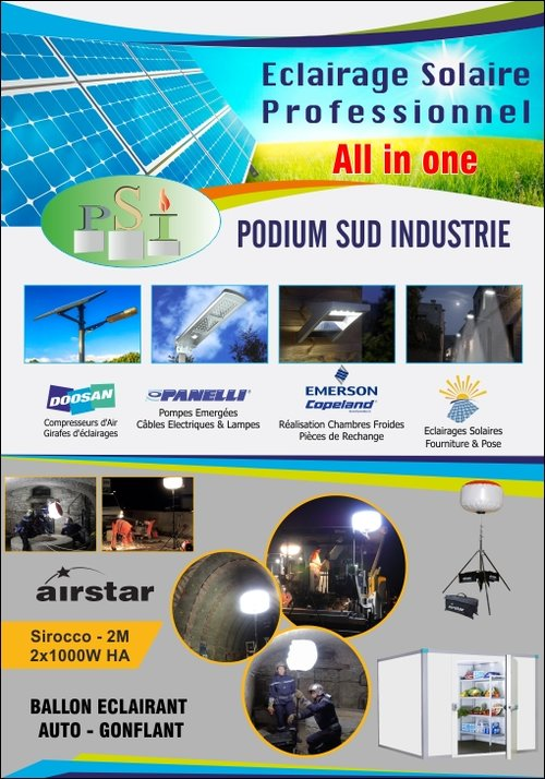 PODIUM SUD INDUSTRIE